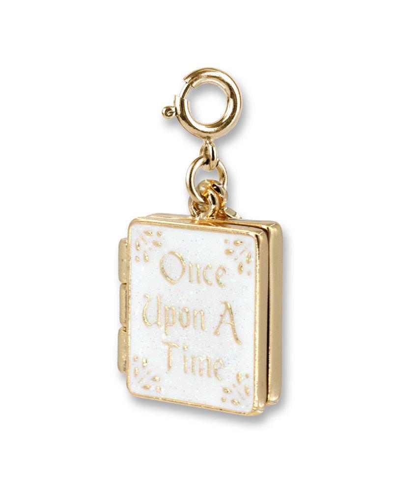 CHARM IT! Gold Princess Book Charm