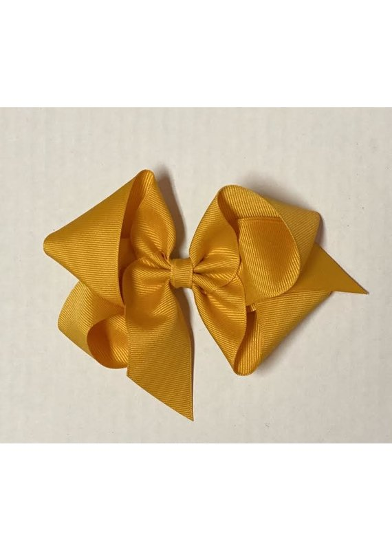 Gold Big (5in) Groagrian Bow