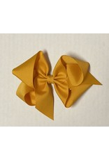 Apricot Big (5in) Grosgrain Bow
