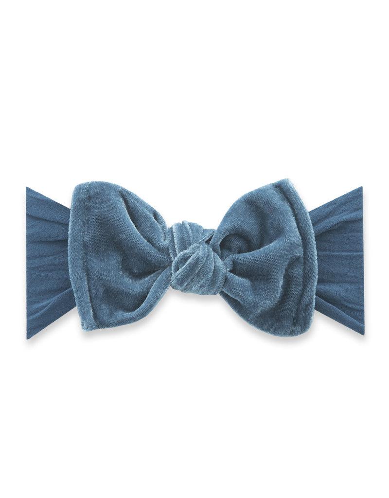 Velvet Knot Slate Blue