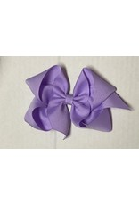 Light Orchid Small (4in) Grosgrain Bow