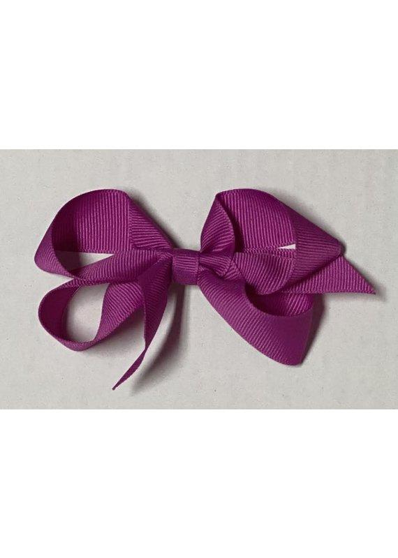 Magenta Small (4in) Grosgrain Bow