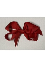 Red Small (4in) Grosgrain Bow