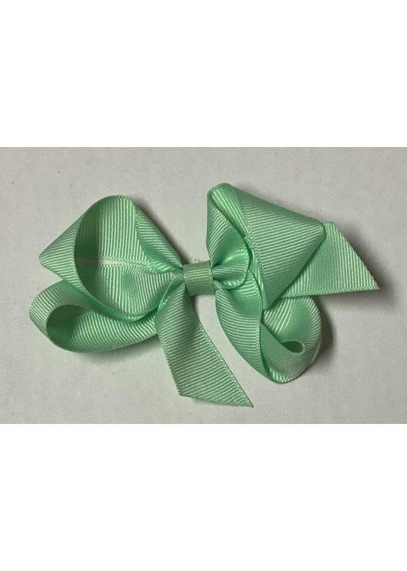 Mint Small (4in) Grosgrain Bow