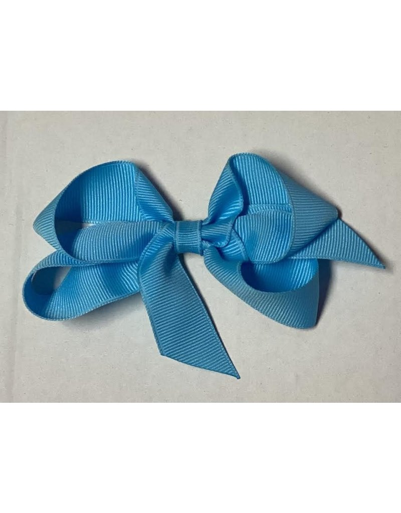 Mystic Blue Small (4in) Bow