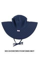 Navy Swim Hat 12m-2T