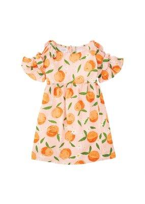 Orange Bow Dress