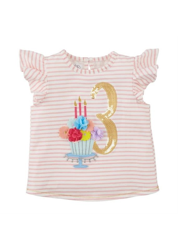Three Birthday Shirt 3T