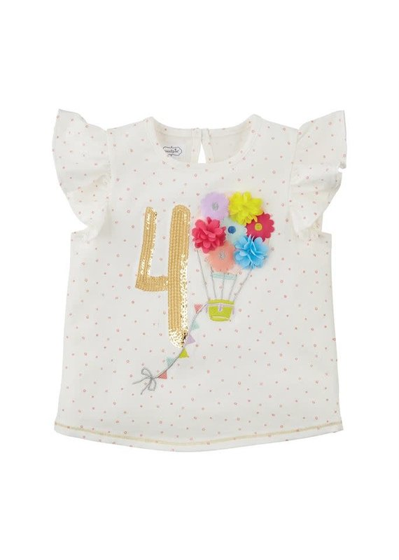 Four Birthday Shirt 4T