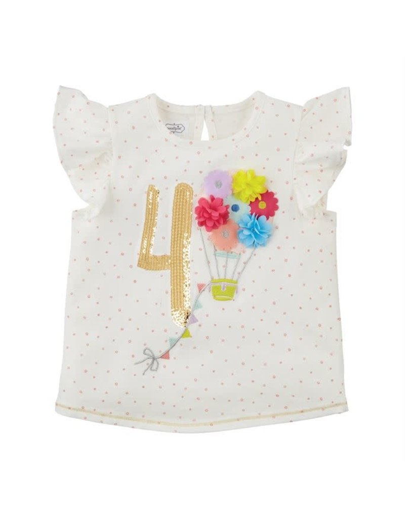 Four Birthday Shirt 4T