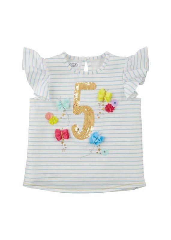 Five Birthday Shirt 5T