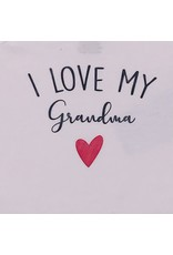 I Love My Grandma Short Sleeve Onesie
