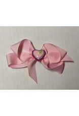 4in Valentines Bow w/charm