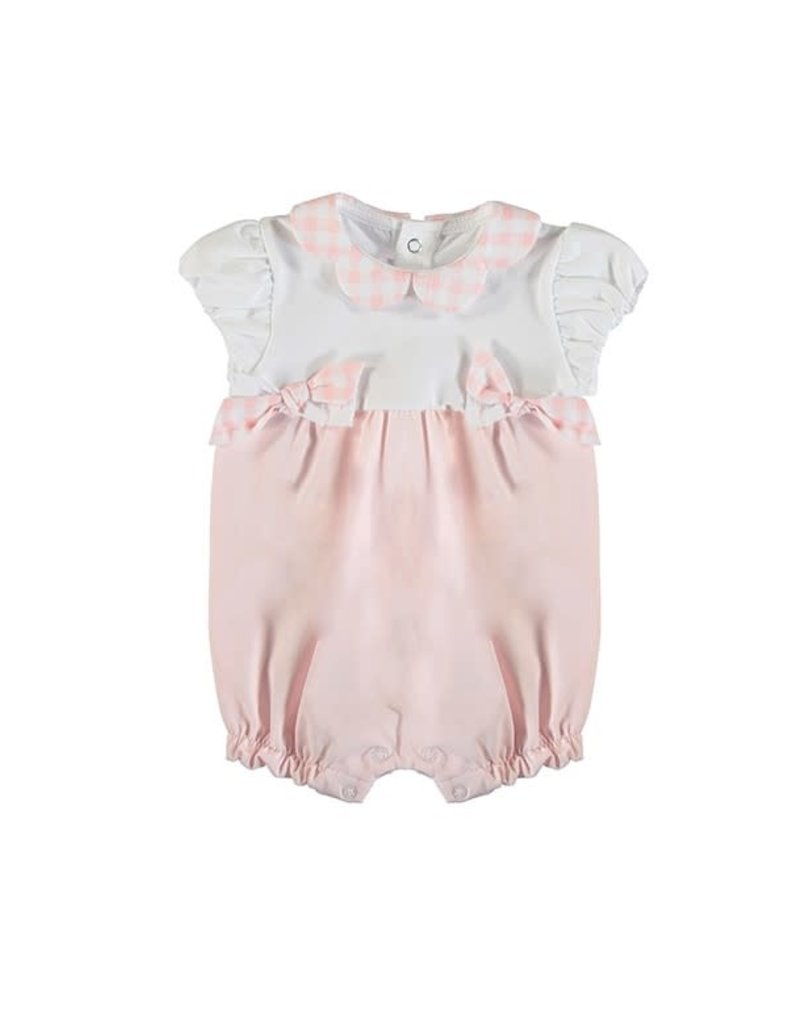 Baby Rose Bow Short Romper