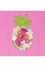 Camellia Watermelon Embroidery Short Set