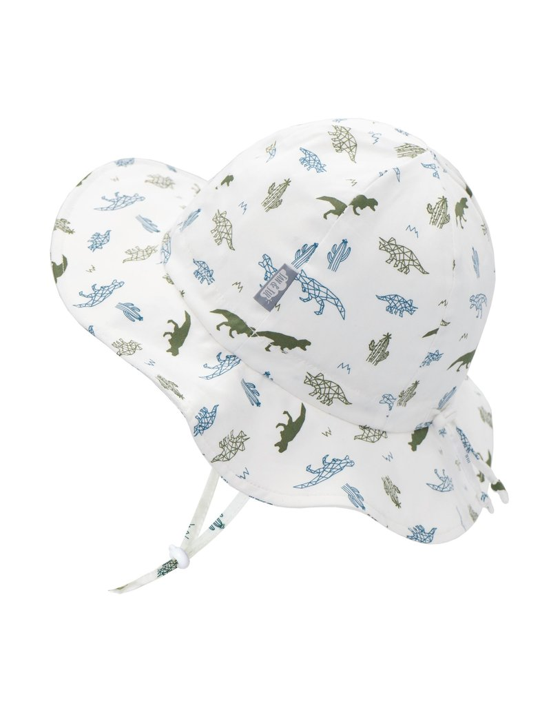 Jan & Jul Dino Cotton Floppy Sun Hat
