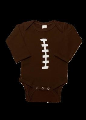 Football Brown Onesie