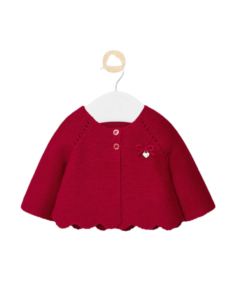Knit Red Cardigan