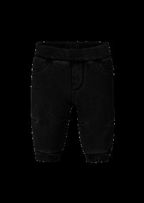 Black Polar Fleece Pants