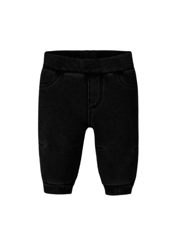 Black Polar Fleece Pants