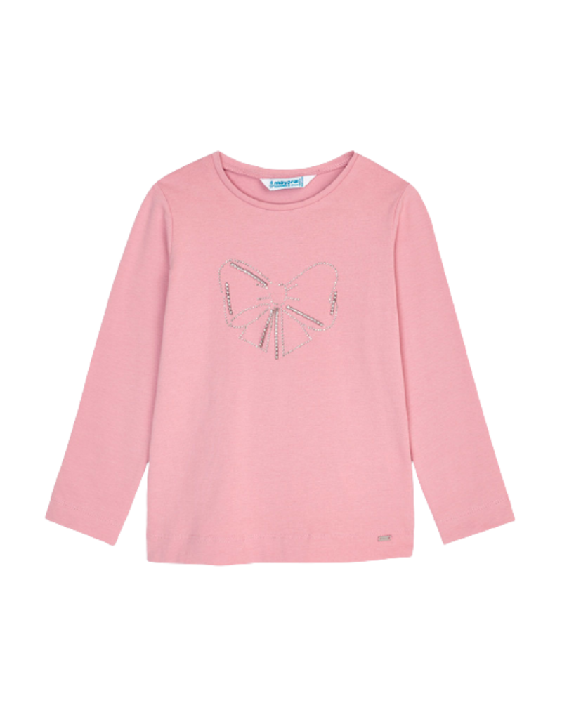 Blush Long Sleeve Basic T-Shirt