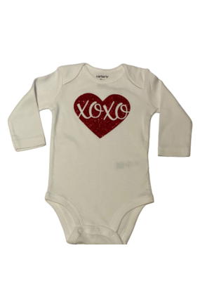 XOXO Long Sleeve Onesie