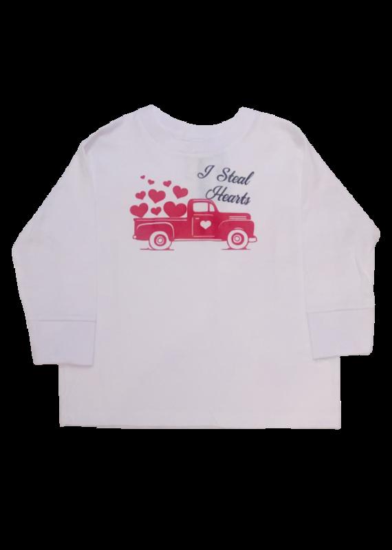 I Steal Hearts Toddler Shirt