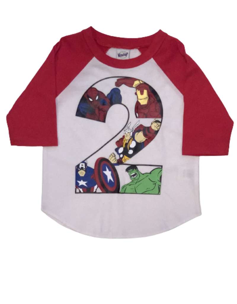 Superhero Birthday Shirt