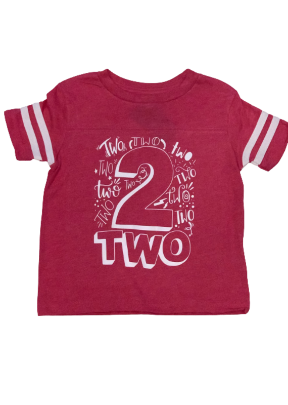 Girls Baseball Tee Birthday Shirt
