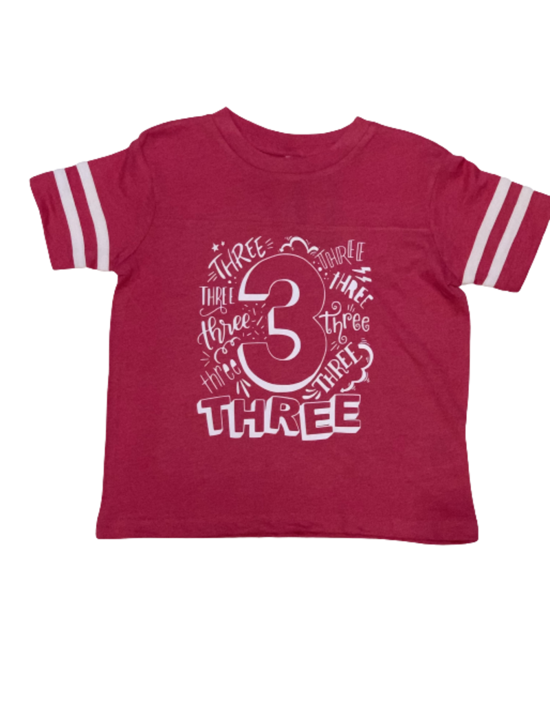 Girls Baseball Tee Birthday Shirt