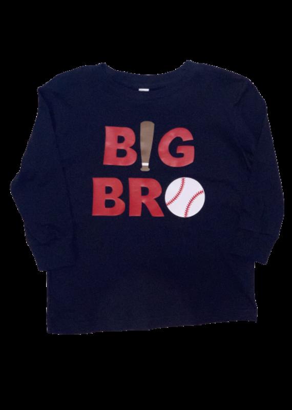 Big Bro Baseball Long Sleeve Shirt