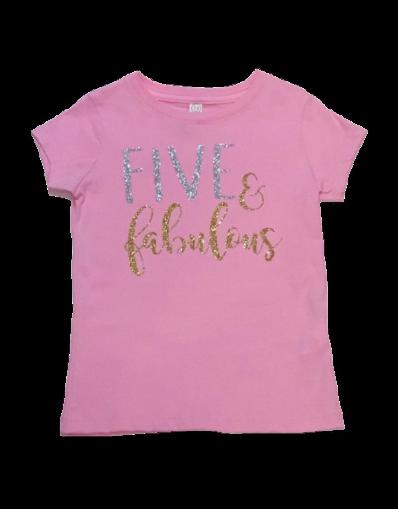 Five and Fabulous Birthday Shirt