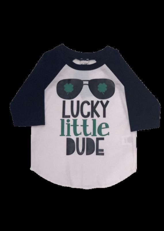 Lucky Little Dude Baseball Tee