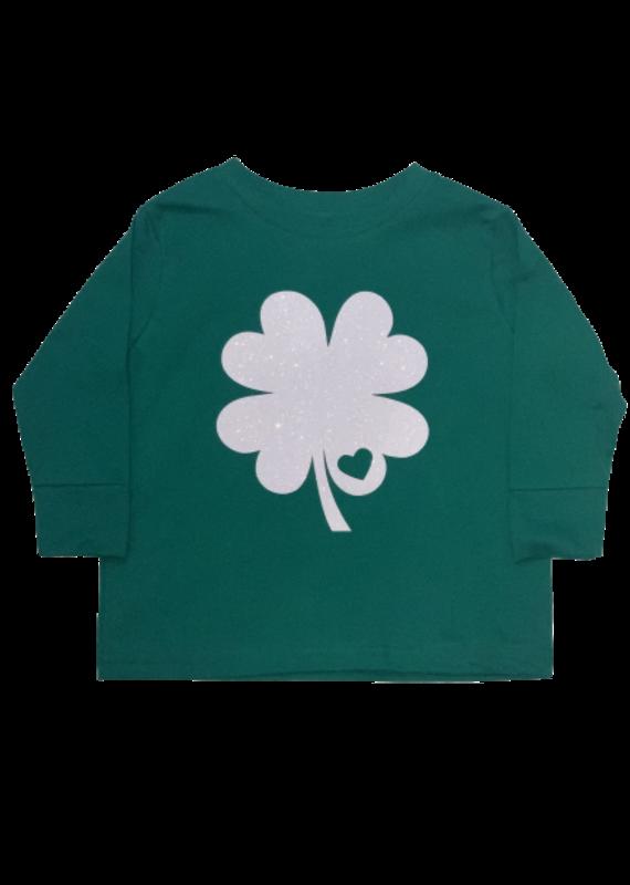 Green Shamrock Toddler Long Sleeve