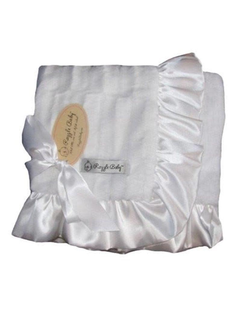 White  Double Plush Blanket