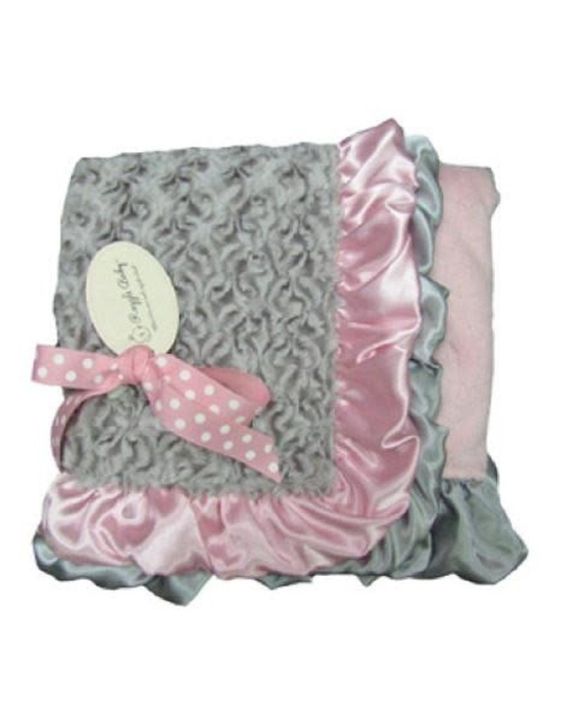 Silver Icicle Double Plush Blanket