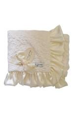 Ivory Double Plush Blanket