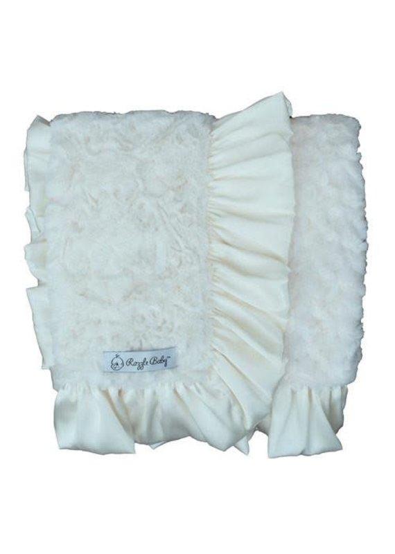 Ivory Dynasty Double Plush Blanket