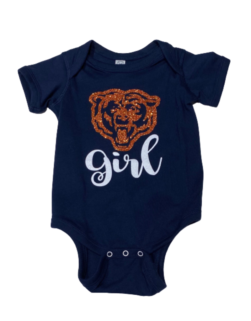 Bears Girl Short Sleeve Onesie
