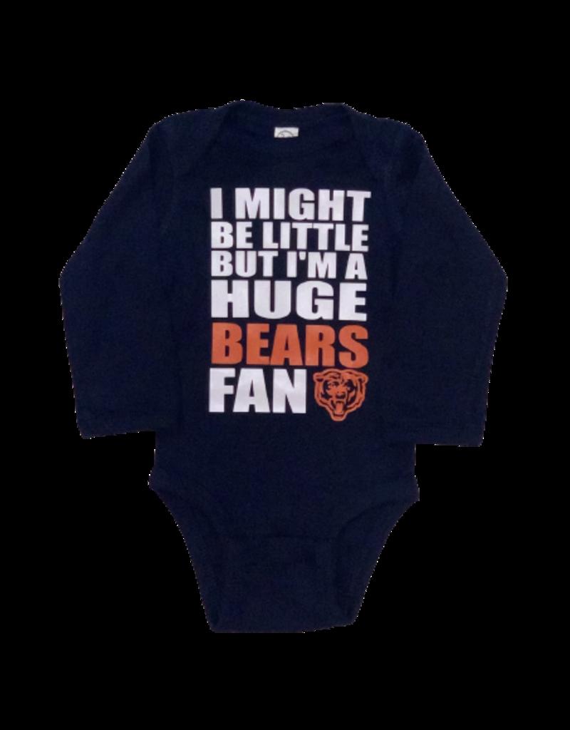Huge Bears Fan Long Sleeve Onesie