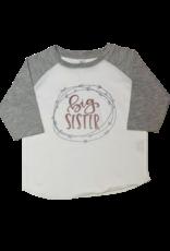 Rose Gold Big Sister Shirt