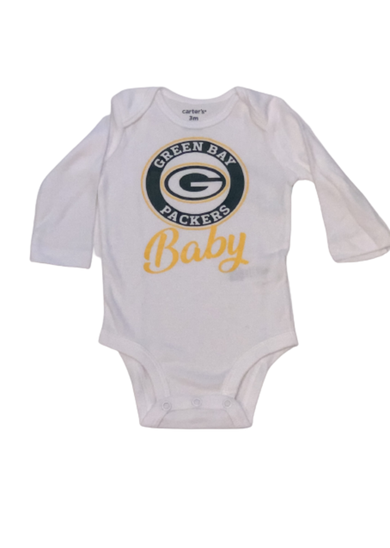 Packers Baby Long Sleeve Onesie