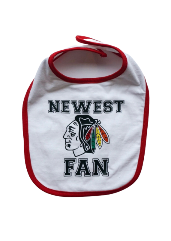 Newest Blackhawks Fan Bib