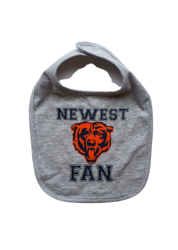 Newest Bears Fan Bib