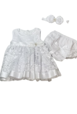 Emma Lace Christening Dress