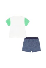 Mint Short and Tshirt Set
