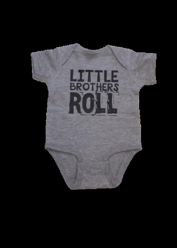 Little Brothers Roll Short Sleeve Onesie