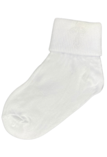 Girls Christening Cross and Lace Socks