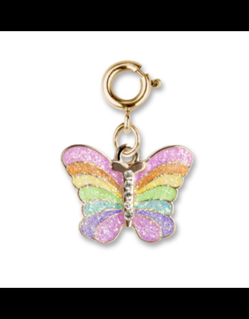 CHARM IT! Gold Glitter Butterfly