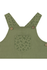 Khaki Dungaree Shirt Set